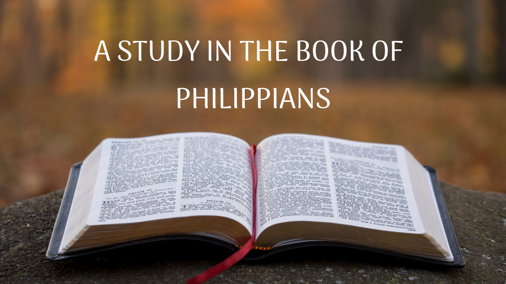 Women's Bible Study-A Study in the Book of Philippians